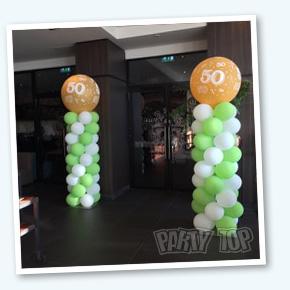Ballonpilaar 50