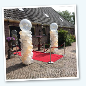 Ballonpilaar Wedding