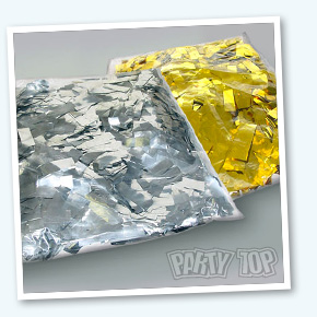 confetti-zilver