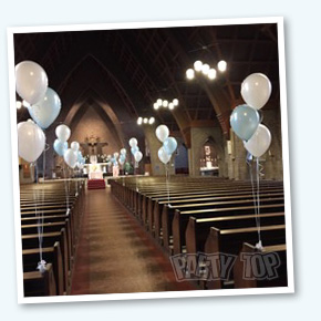 Ballondeco kerk