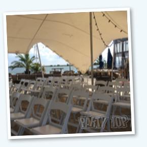 Wedding chair beach